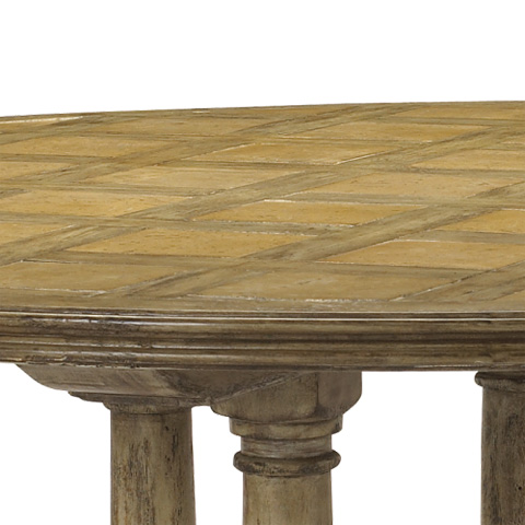 French Heritage - Pyrenees Round Dining Table - M-2520-1101-DRC