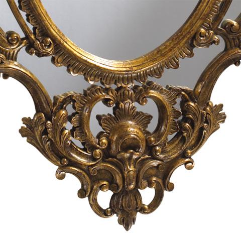 Image of La Rochette Ornate Gilded Mirror