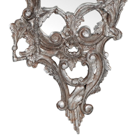French Heritage - Saville Scroll Mirror Set - M-8704-218-SLV
