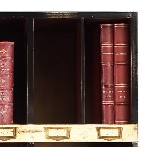 French Heritage - Cube Bookcase with Wine Racks - M-FL49-082-BEI