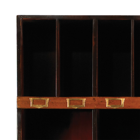 French Heritage - Twenty Four Cube Bookcase - M-FL49-082-BKR