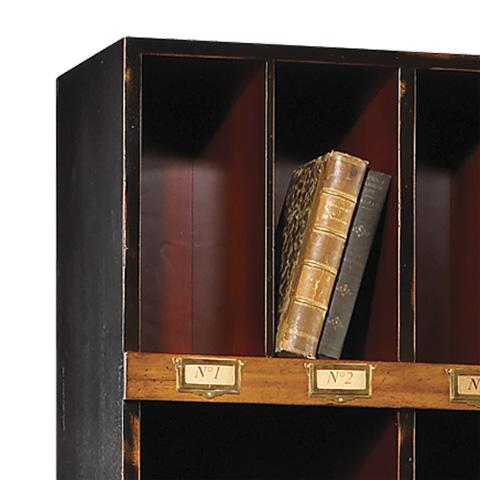 French Heritage - Upholsterer's Trimmings Storage Unit - M-FL50-082-BKR