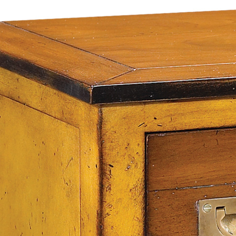 French Heritage - Nightstand in Yellow - M-FL02-260-YEL