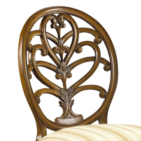 French Heritage - Briance Side Chair - M-1528-203-SBCH