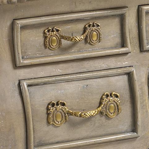 French Heritage - Pompidour Desk - M-2045-1201-SGRW