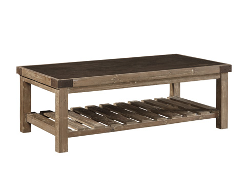 Furniture Classics Limited - Graystone Top Coffee Table - 33207H