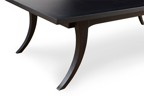 Chaddock - Aristotle Klismos Coffee Table - Tar Finish - MM1469-41