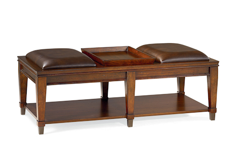 Image of Rectangular Bench Cocktail Table