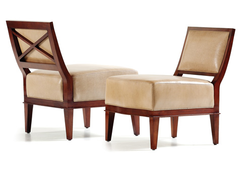 Hancock and Moore - Keller Armless Chair - 4983