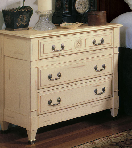 Harden Furniture - Granite Top Half Nightstand - 1872