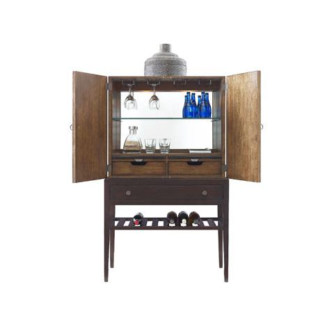 Henredon - Bar Cabinet with Wine Rack - 3420-49