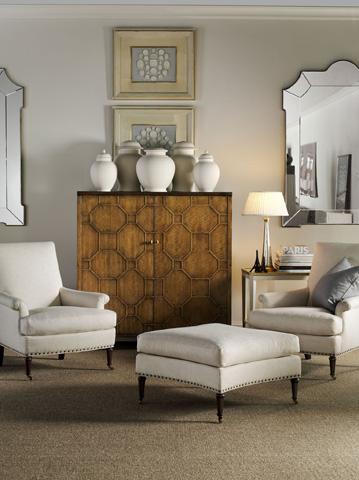 Hickory Chair - Virginia Ottoman - 1527-29