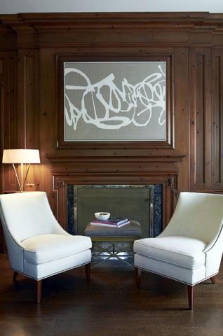 Hickory Chair - Haddon Lounge Chair - 1622-24