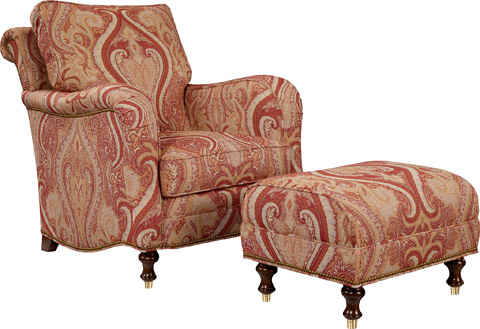 Hickory Chair - Lowell Chair without Casters - 1782-24