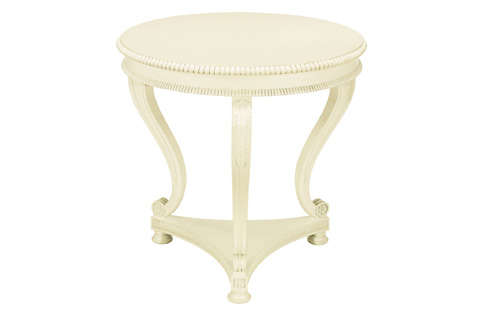 Image of Round Regency Lamp Table