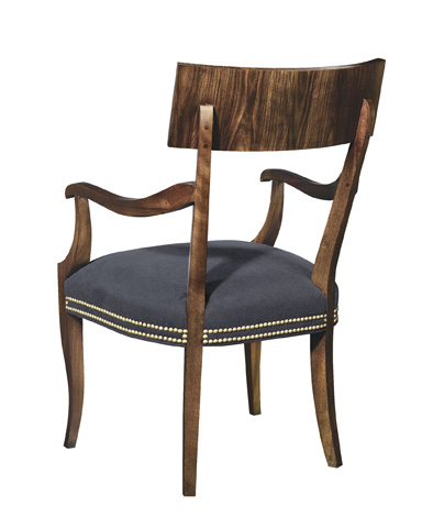Hickory Chair - Blix Arm Chair - 5450-01
