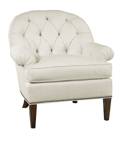 Hickory Chair - Holly Skirted Chair - 7630-21