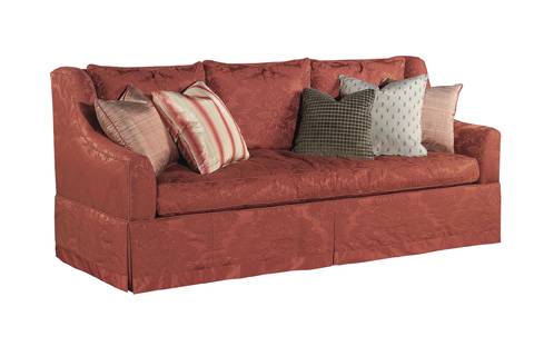 Hickory Chair - Sutton Skirted Sofa - 322-88