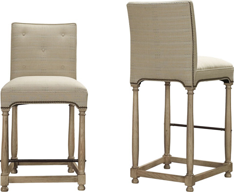 Hickory Chair - Marit Barstool - 9511-04