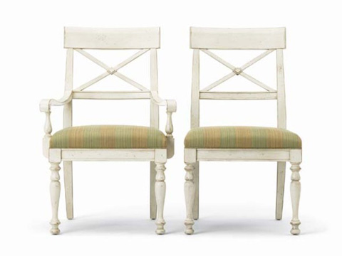 Hickory White - X-Back Side Chair - 231-64
