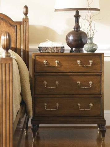 Hickory White - Three Drawer Nightstand - 425-72