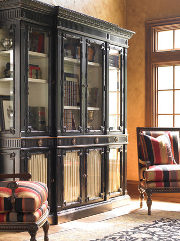 Hickory White - China Cabinet with Glass Doors - 670-41G
