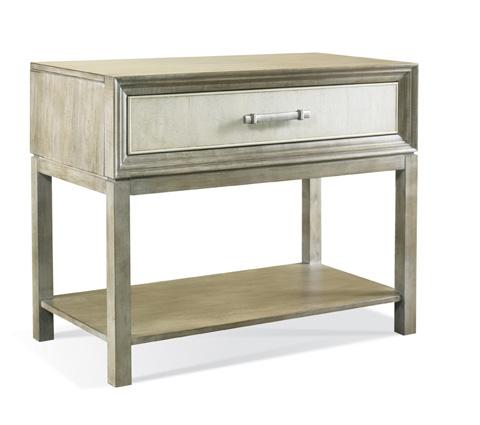 Hickory White - Greg Single Drawer Side Table - 107S