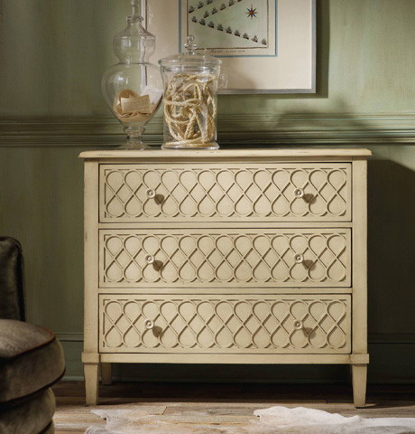 Hooker Furniture - Melange Raised Lattice Front Chest - 638-85017