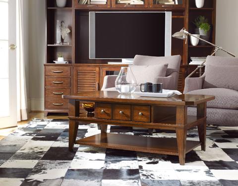 Hooker Furniture - Wendover Rectangle Cocktail Table - 1037-81110
