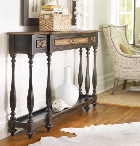 Hooker Furniture - Sanctuary Three Drawer Thin Console - 3005-85004