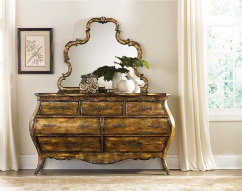Hooker Furniture - Sanctuary Six Drawer Dresser - 3016-90002