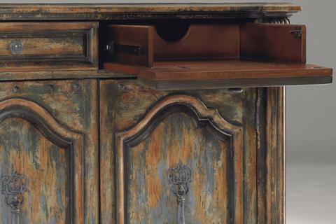 Hooker Furniture - Two-Door Two-Drawer Chest w/Bun Feet - 5014-85122