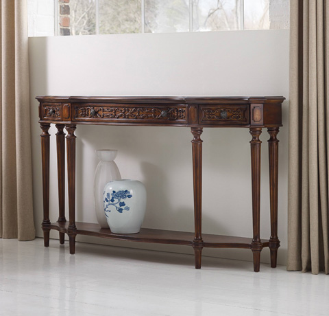 Hooker Furniture - Three Drawer Thin Console - 5048-85122