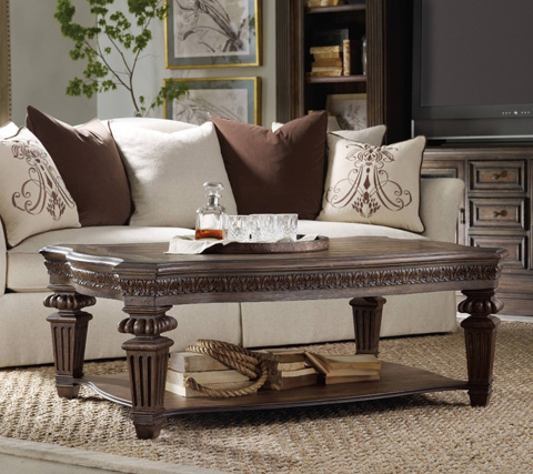 Hooker Furniture - Rhapsody Rectangle Cocktail Table - 5070-80110