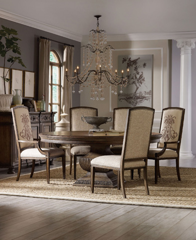 Hooker Furniture - Rhapsody 72in Round Urn Table - 5070-75213