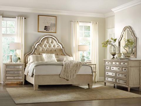 Hooker Furniture - Sanctuary King Tufted Bed - 3023-90866