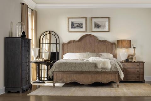 Hooker Furniture - Corsica Dark Six Drawer Chest - 5280-90010