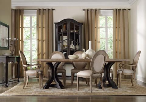Hooker Furniture - Oval Back Side Chair - 5180-75412
