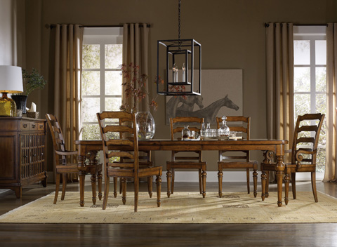 Hooker Furniture - Rectangular Dining Table with Leaves - 5323-75200