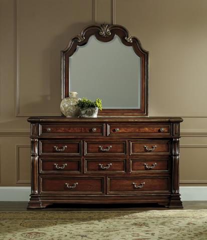 Hooker Furniture - Shaped Top Portrait Mirror - 5272-90004