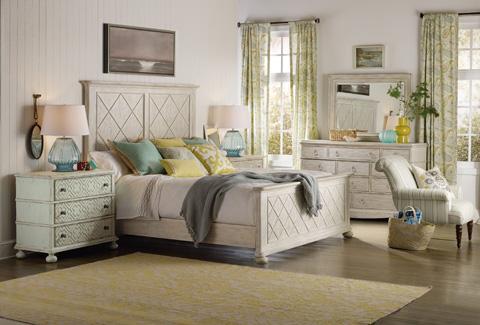 Hooker Furniture - Fretwork Panel Bed - 5325-90266