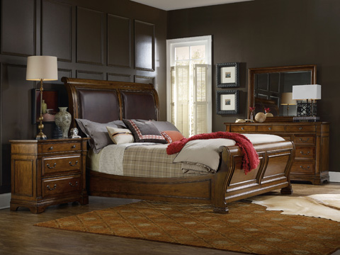 Hooker Furniture - Sleigh Bed - 5323-90466