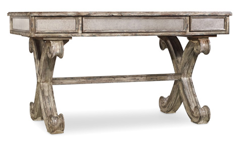 Hooker Furniture - Mirrored Writing Desk - 5281-10458
