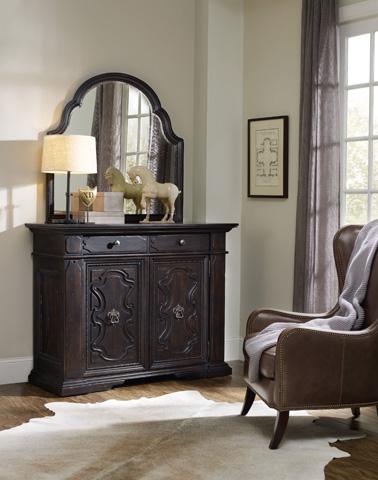 Hooker Furniture - Treviso Shaped Landscape Mirror - 5374-90009