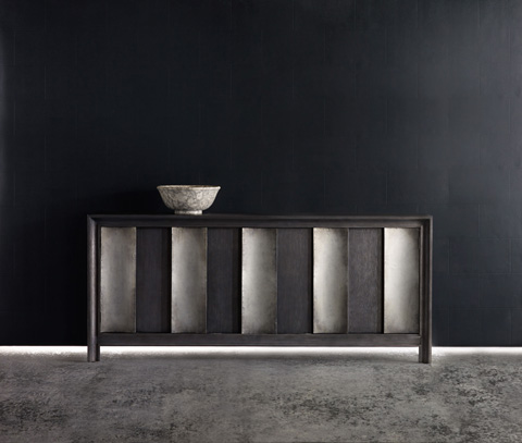 Hooker Furniture - Melange Channeled Console - 638-85127