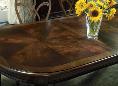 Hooker Furniture - Leesburg Leg Dining Table - 5381-75200