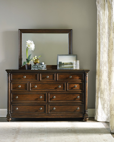 Hooker Furniture - Leesburg Ten Drawer Dresser - 5381-90002