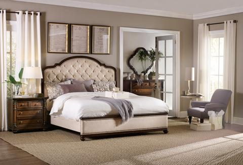 Hooker Furniture - Leesburg Queen Upholstered Bed - 5381-90850