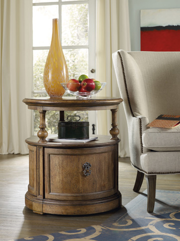 Hooker Furniture - Sanctuary Brighton Round Lamp Table - 5401-80115