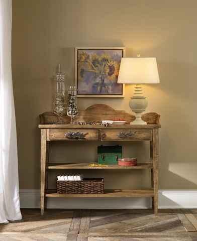 Hooker Furniture - Sanctuary Brighton Two Drawer Thin Console - 5407-85001
